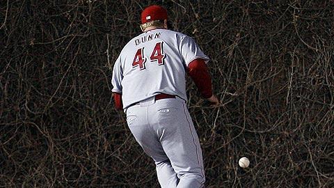 Adam Dunn - left field - Cincinatti Reds