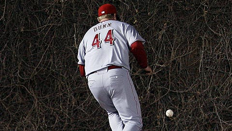 Adam Dunn - left field - Cincinatti Reds