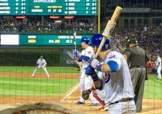 Regular season MVP on first. NL first base Gold Glove winner at bat. World Series MVP on deck.